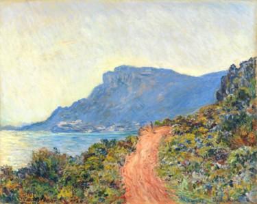 LA CORNISA DE MÓNACO - Claude Monet