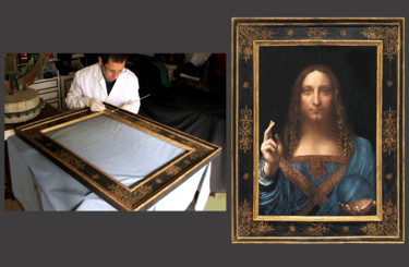 SALVATOR MUNDI picture frame