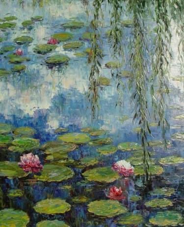 NENÚFARES 4 - Pensando en Monet.