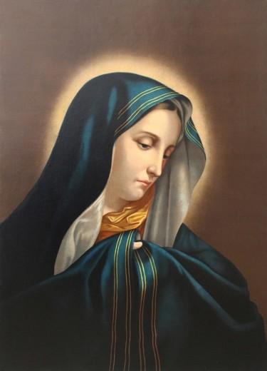 VIRGEN DOLOROSA (Madonna del dito )